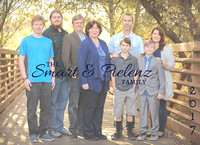 The Pielenz & Smart Family opening page